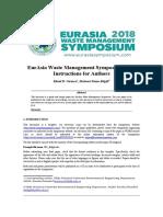 EurAsia Waste Management Symposium_Template