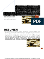 Hongos Nativos con Potencial Degradador de Tintes Industriales.pptx