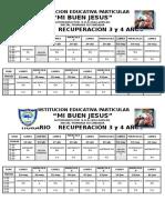 HORARIO RECUPERACION INICIAL PRIMARIA SECUNDARIA.docx
