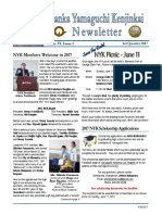 April 2017 1st Qtr NYK Newsletter  Vol. VI  Issue 1