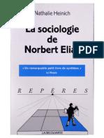 Nathalie Heinich, La Sociologia de Norbert Elias (Paris