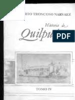Historia de Quilpue Troncoso Tomo 4