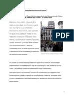 Los Centros Históricos y Las Trasformaciones Urbanas Buenos Aires