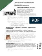 La Autoafirmacion 5º -2016