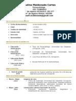 Curriculum Paulina Maldonado Cartes