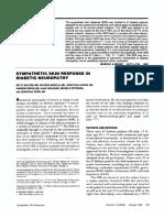 Muscle & Nerve Volume 10 Issue 8 1987 [Doi 10.1002%2Fmus.880100806] Dr. Betty Soliven; Dr. Ricardo Maselli; Dr. Jonathan Jaspan; Dr. -- Sympathetic Skin Response in Diabetic Neuropathy (1)