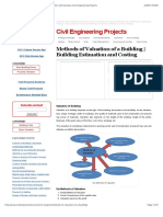 Methods of Valuation of a Building | Building Estimation and Costing | Civil Engineering Projects