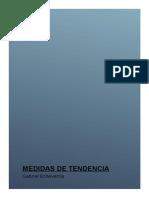 Medidas de Tendencia Central y de Variabilidad