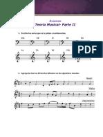Examen Teoría Musical