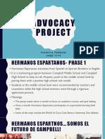 farzad advocacy project