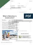 What Is Retention in Construction? | Sapling.com | Sapling.com