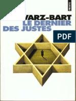 Goncourt 1959 - Schwarz-bart André - Le Dernier Des Justes