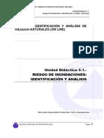 UD 5.1 Riesgo Inundaciones. Identificacion y Analisis