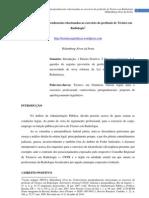 Controvérsias jurisprudenciais relacionadas ao exercício da profissão de Técnico em Radiologia