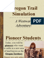 OregonTrail Interactive Activity