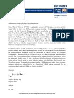 uwde - letter of recommendation - fuller