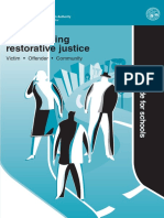 Implementing Restorative Justice