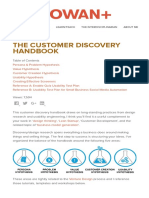 The Customer Discovery Handbook