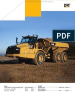 Catalog Caterpillar 740b Articulated Truck Specifications