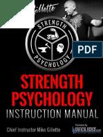 Strength Psychology Instruction Manual