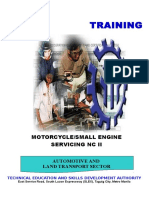 Motorcycle Small Engine Servicing NC II