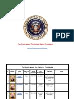 funfactsuspresidents