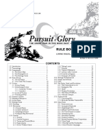 Pursuit of Glory Rulebook