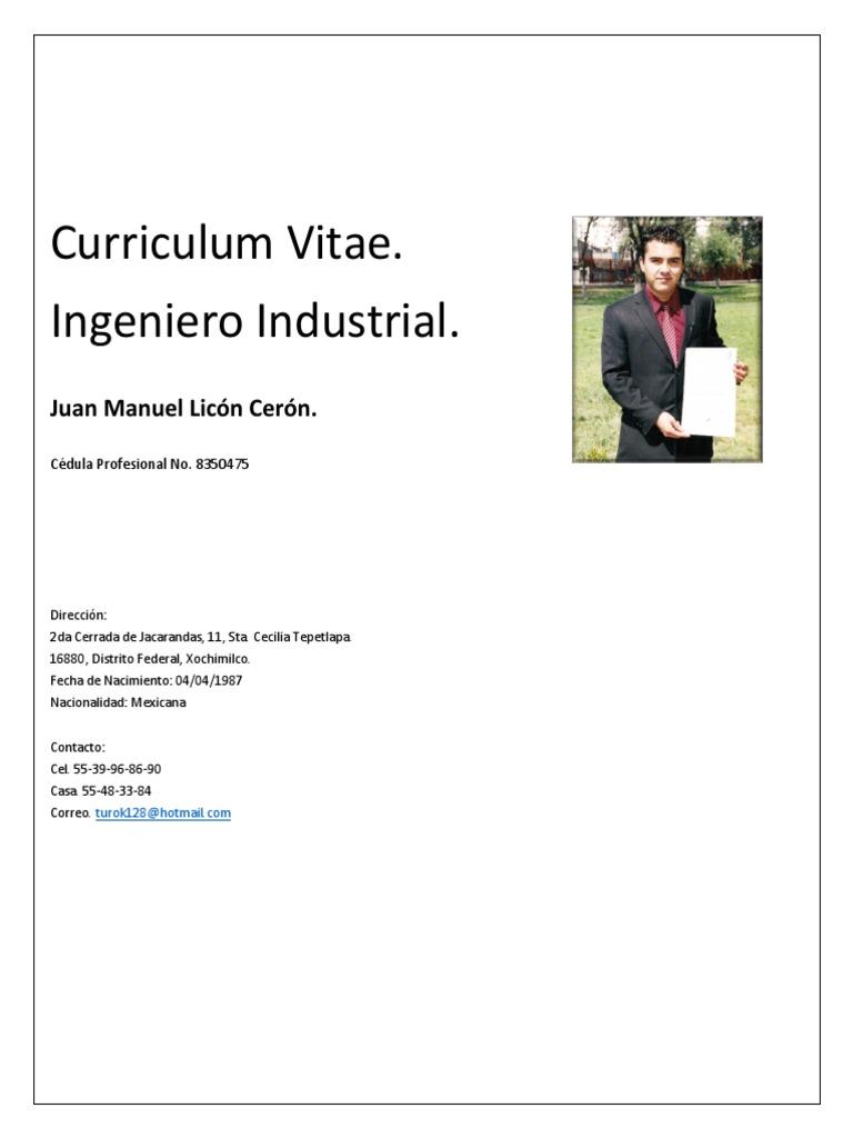 Curriculum Vitae ACTUALIZADO