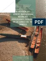 REVISIÓN DEL GÉNERO Apistogramma REGAN 1913 (PERCIFORMES, CICHLIDAE) EN LA CUENCA DEL RÍO ORINOCO