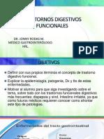 Medicina III - Trastornos Digestivos Funcionales