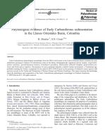 Palynological Evidence of Early Carboniferous Llanos, Dueñas & Césari 2006