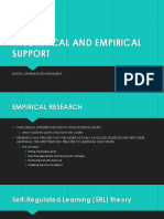 theoretical and empirical support