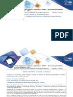 Guía de Actividades Trabajo Colaborativo Quimica General