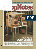 ShopNotes #14 (Vol. 03) - Fold Down Work Center