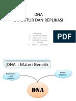 STRUKTUR DAN REPLIKASI DNA