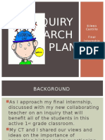 inquiry research plan conference