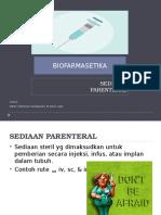 Sediaan Parenteral(1)