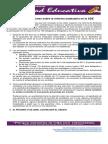 Algunas Precisiones Sobre La Reforma Estatutaria en La ADE