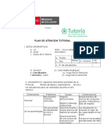 Plan de Atención Tutoríal para el 2017
