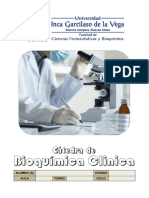 _Apuntes de La Catedra de Bioquimica Clinica UIGV