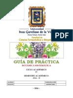 _Guia de Practicas de Botanica Sistematica UIGV 2016