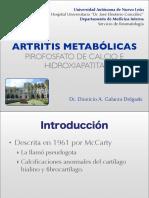 Artritis Por Pirofosfato de Calcio