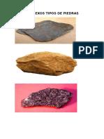Anexos Tipos de Piedras