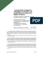 Gadea Montesinos - Asociacionismo Inmigrante y Estrategias de Inserción