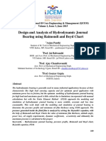 Design and Analysis of Hydrodynamic Journal Bearing Using Raimondi and Boyd Chart