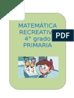 4to Grado Matematicas