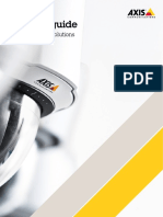 Axis Product Guide - Network Video Solutions