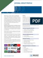 Moody International Inspection Group Brochure