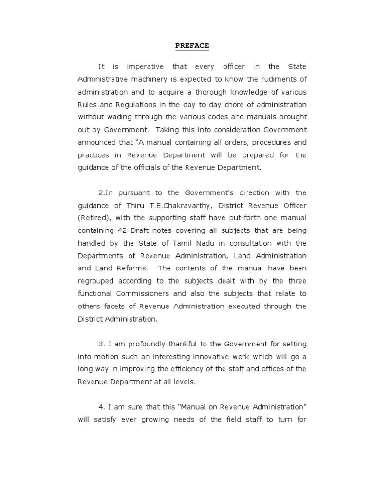 tn govt revenue administration manual 2001 cholera license rh scribd com