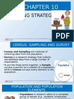 Chapter 10 Sampling Strategies Edited